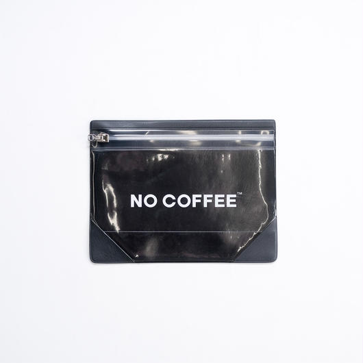 NO COFFEE Gusset Pouch M