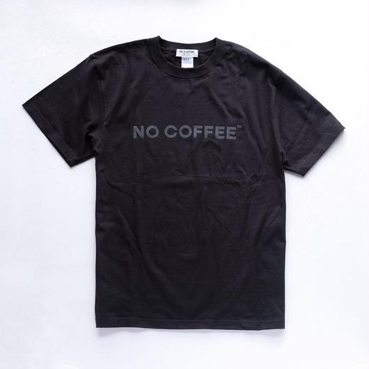 NO COFFEE BLACK ロゴTシャツ
