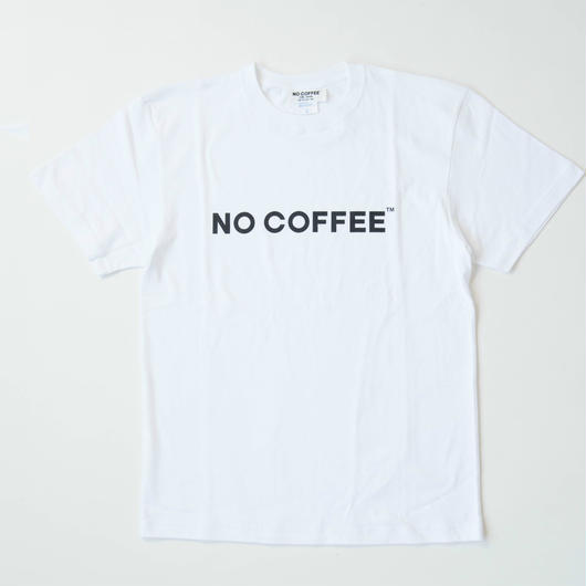 NO COFFEEロゴTシャツ(ホワイト)