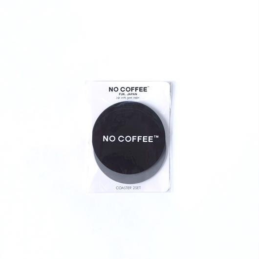 NO COFFEE RUBBER COASTER 2枚セット
