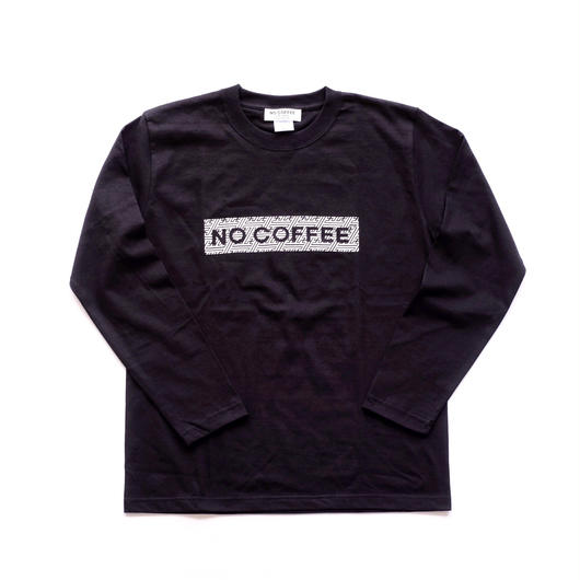NO COFFEE × SEVESKIG LS Tシャツ( ブラック)