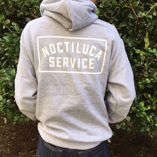 NOCTILUCA SERVICE hoodie gray