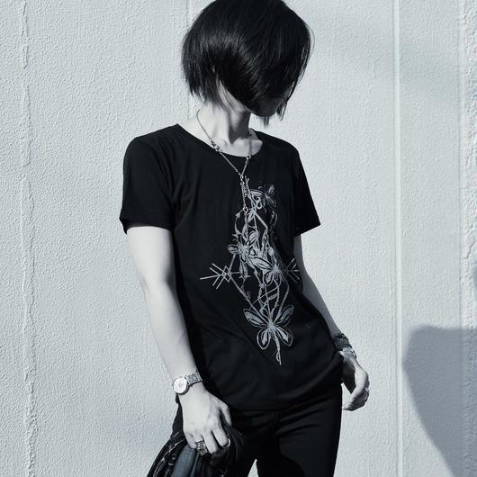 M-Tシャツ / アレクサンドラトリバネアゲハBK