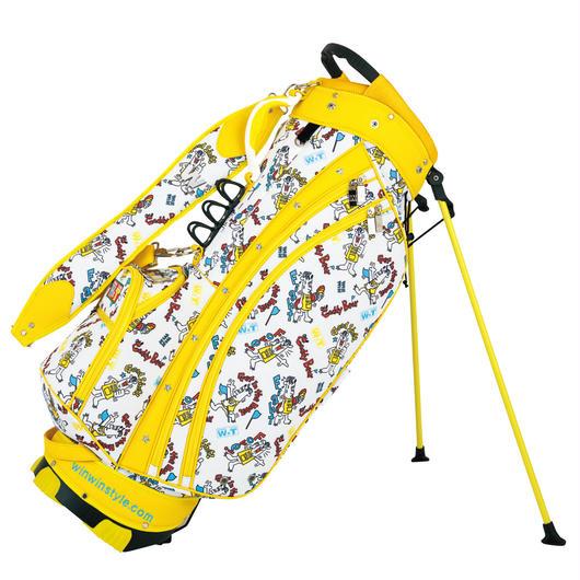 【予約販売】WINWIN×野村タケオコラボキャディバッグ50本限定!スタンドバッグ