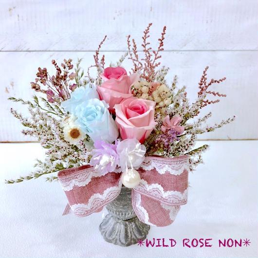 ギフトラッピング無料・プリザーブドフラワー・wild rose