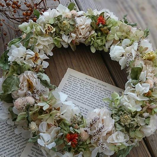 Spring  Wreath White