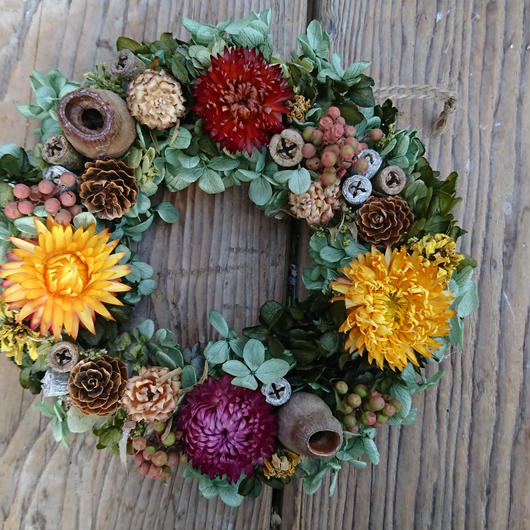 vitamin wreath
