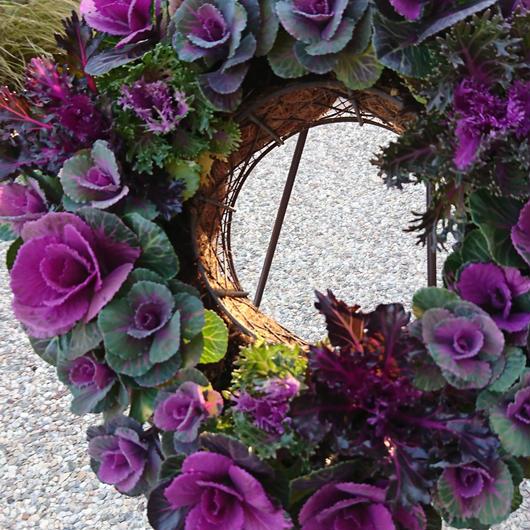 大人可愛いnatural wreath