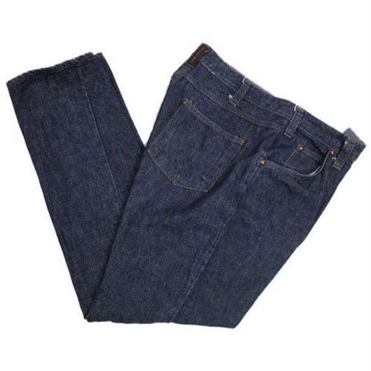 70's Dickies Denim Pants (about34×30) ディッキーズ ストレート 5ポケット デニムパンツ 濃紺
