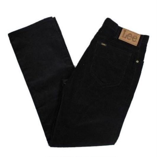 NOS 80's〜 Lee 200-2801 Corduroy Pants Black(33×32)  デッドストック リー コーデュロイパンツ ブラック 黒