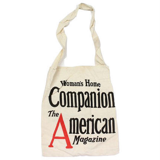 NOS 30's〜 Women's Home Companion & Collier's Canvas Magazine Bag デッドストック マガジンバッグ
