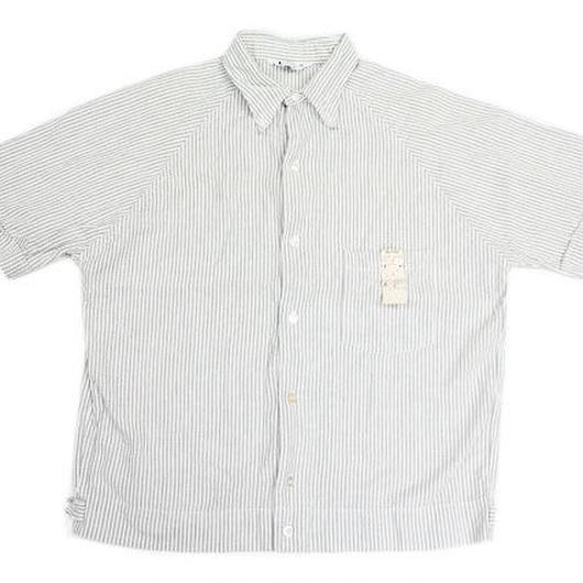 NOS 60's SEARS Striped Seersucker S/S Shirts (M) デッドストック シアーズ  シアサッカー ボタンダウン コットンシャツ ストライプ