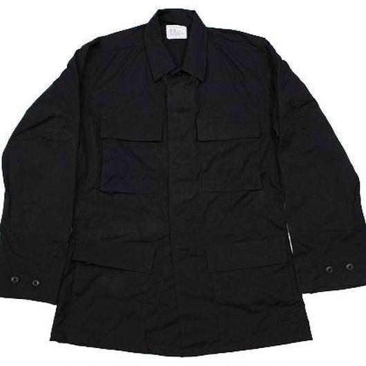 NOS 1997 COAT,BLACK 357,COMBAT WIND RESISTANT POPLIN (S-L) デッドストック BDU 黒
