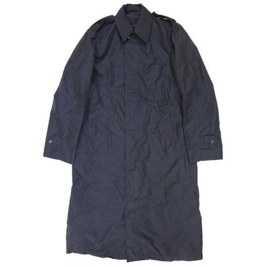 50's RAINCOAT,MAN'S NYLON & RAYON,BLUE (34L) USAF レインコート 黒タグ