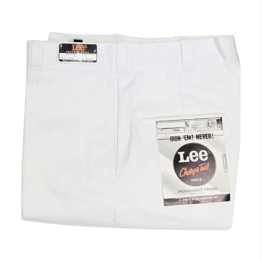 NOS 70's Lee CHETOPA TWILL Work Pants White (30×29) デッドストック リー ワークパンツ 白