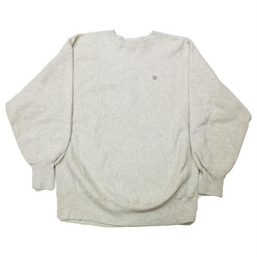 90's Champion Reverse Weave Sweat Shirt (XL) チャンピオン リバースウィーブ オートミール 無地 目付き
