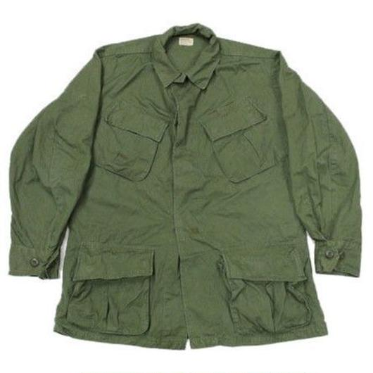 60's COAT,MEN'S,COTTON W/R RIP-STOP POPLIN ,OG 107,CLASS 1  (SMALL-REGULAR) 4th ジャングル ファティーグ リップストップ