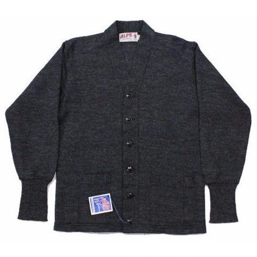 NOS 50's ALPS Sportswear Wool Cardigan (40) デッドストック パッチポケット ウール ワークカーディガン