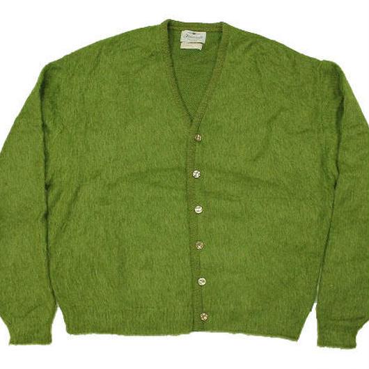 60's Finecraft Mohair Knit Cardigan (L) モヘア ニット カーディガン