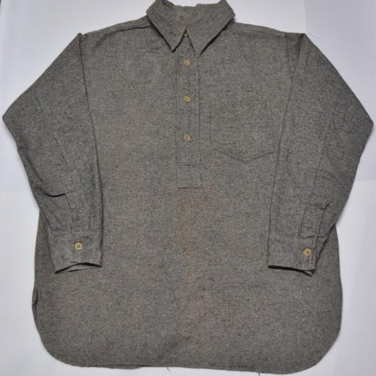 30's pullover wool shirt