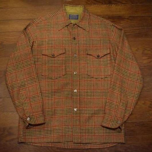 """60's  """"PENDLETON"""" ウールボックスシャツ"""
