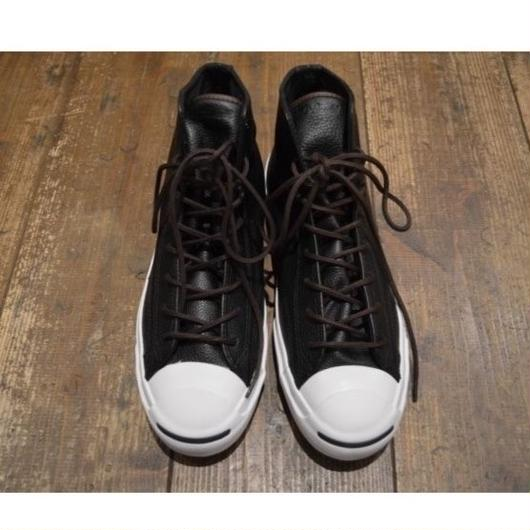 """""""NEW"""" CONVERSE Jack Purcell  Leather Mid BLK"""