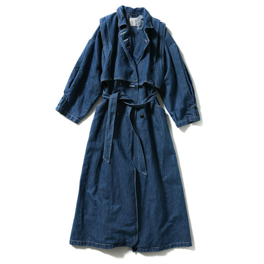 LONG TRENCH COAT【WOMENS】