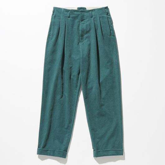 CORDUROY  TWOTACK TAPERED PANTS【MENS】