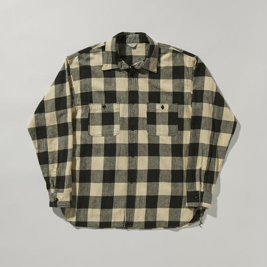 BLOCK CHECK SHIRT 【UNISEX】