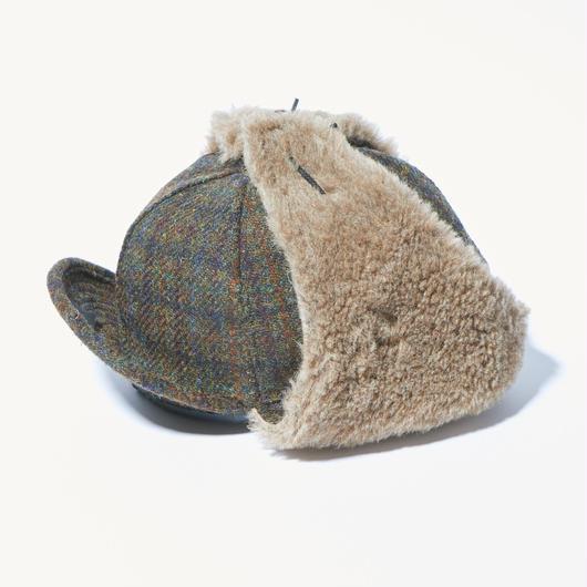 HARRIS TWEED FIELD PILE CAP【UNISEX】