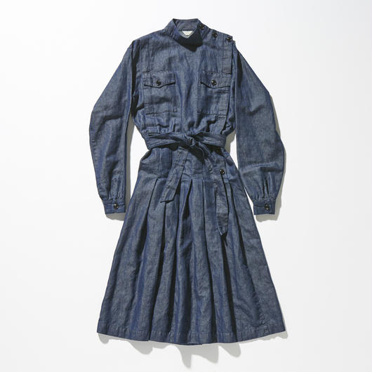 STAND COLLAR MILITARY ONEPIECE【WOMENS】