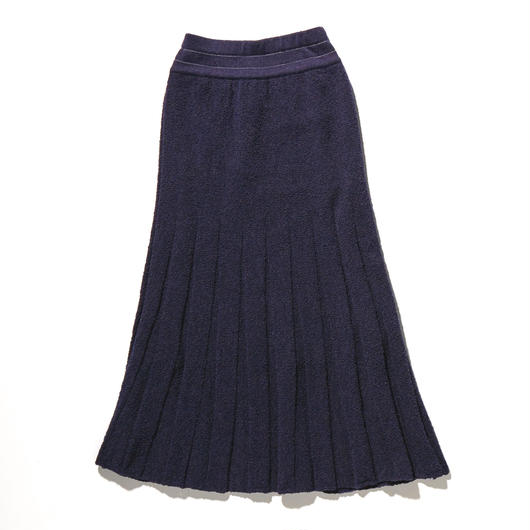 BOUCLE KNIT SKIRT【WOMENS】