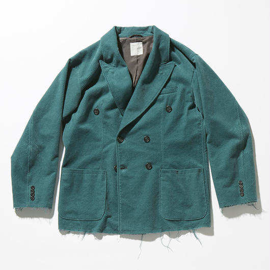 CORDUROY DOUBLE BREASTED JACKET 【 MENS】