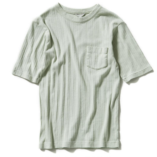 PLEAT FRIES POCKET TEE【WOMENS】