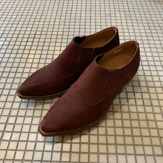 WESTERN ANKLE BOOTS【WOMENS】