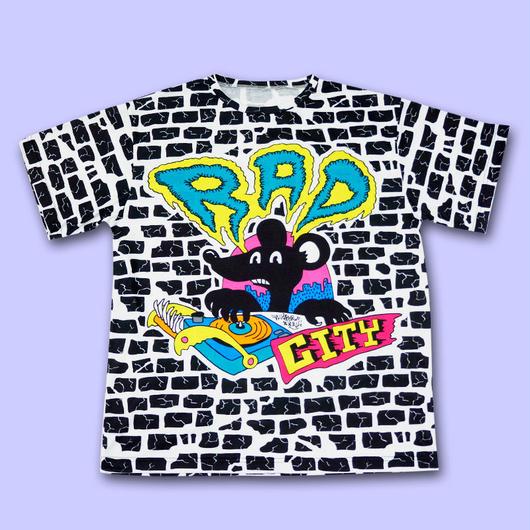 【予約商品 6月下旬以降お届け】RAD CITY ALL OVER PRINT T-Shirts