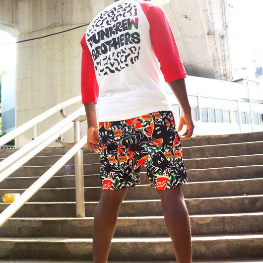 EiGHT ARMS ALL OVER PRINT SHORT PANTS〈NZ006-2〉