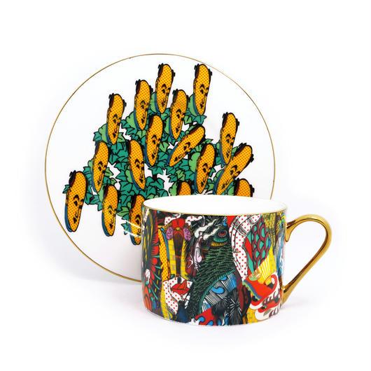 Keiichi Tanaami x BRANDOR Coffee Cup - ART CAFE