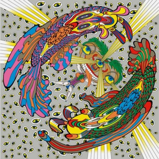 Keiichi Tanaami x BRANDOR ART SCARF A