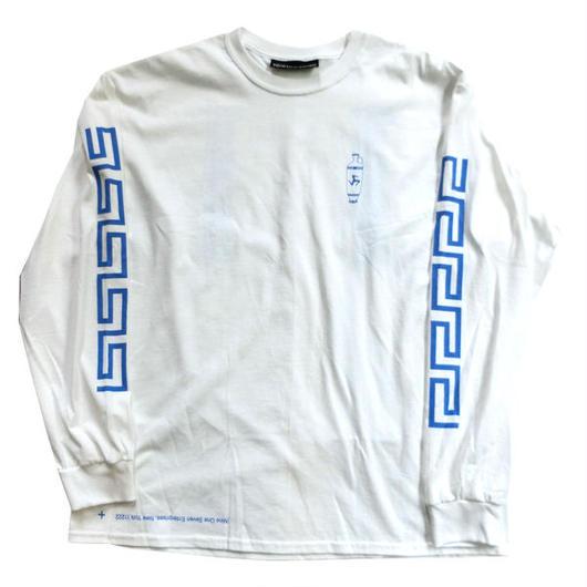 Call me917 Nine One Seven Skateboard Coffee L/S Tシャツ ホワイト ロンT