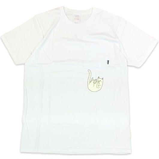 RIPNDIPリップンディップFaliing For NermalTシャツ ホワイト