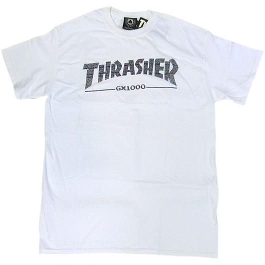 THRASHER×GX1000 S/S TEE ホワイト 限定コラボ