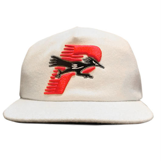 パレススケートPALACE  skateboards ROADRUNNER SNAPBACK CAPホワイト