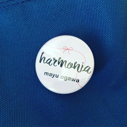 harmonia缶バッチ