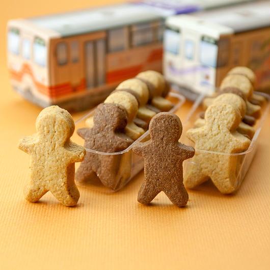 【明知鉄道公認】車両をリアルに再現!『明知鉄道クッキー・さくら(アケチ10型タイプ)』(16枚入)