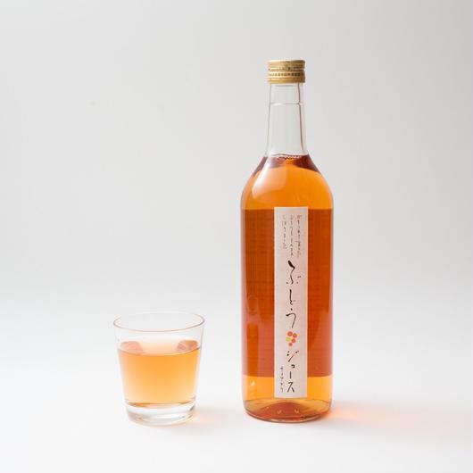 【クリスマスやギフトに最適】まるでノンアルコールのロゼワイン!『森の生活:ナイアガラジュース』(720ml×6本)箱入り