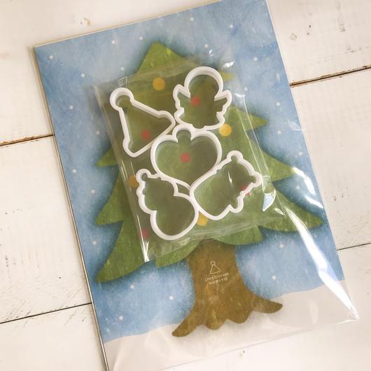 クリスマスクッキー型セット