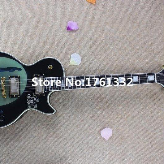 エレキギター 40インチ ギターケース付き ナイトメア マホガニー 初心者 高品質