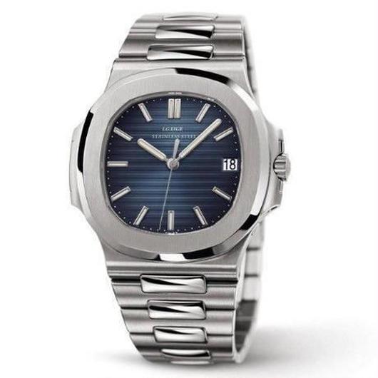 ノーチラス風 メンズ クォーツ腕時計 40mm カラバリ6色