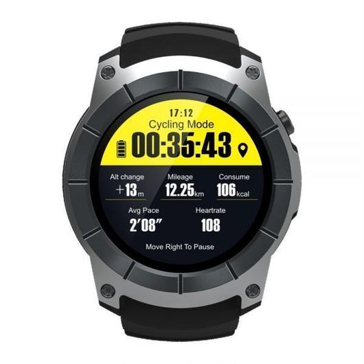 GPSスマートウォッチ2G GSM腕時計 赤 黒 電話 バロメーターのハートレートスマートBTスポーツリストバンド iPhone